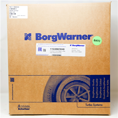 11559900048_BORGWARNER Turbocharger