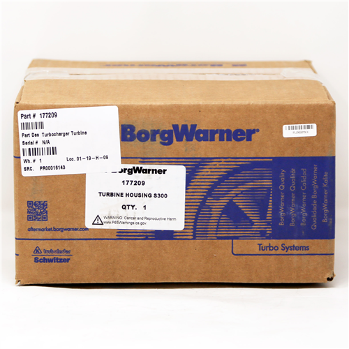 177209_BORGWARNER Turbocharger Turbine Housing