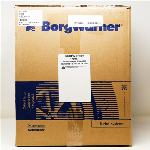 178017_BORGWARNER Turbocharger