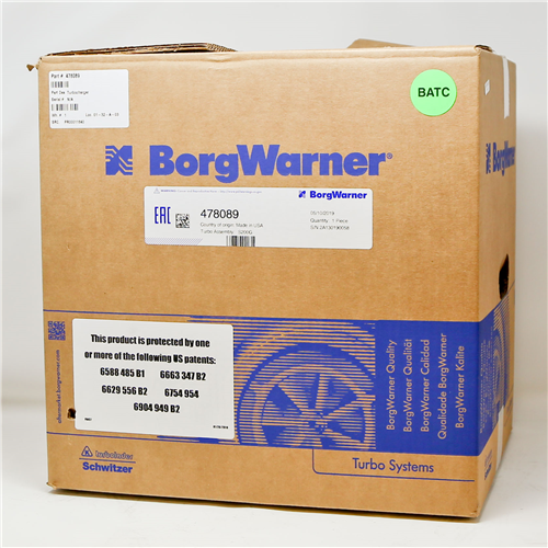 478089_BORGWARNER Turbocharger