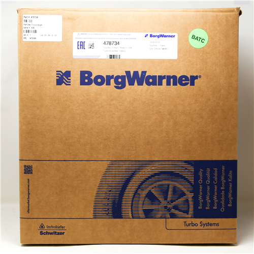 478734_BORGWARNER Turbocharger