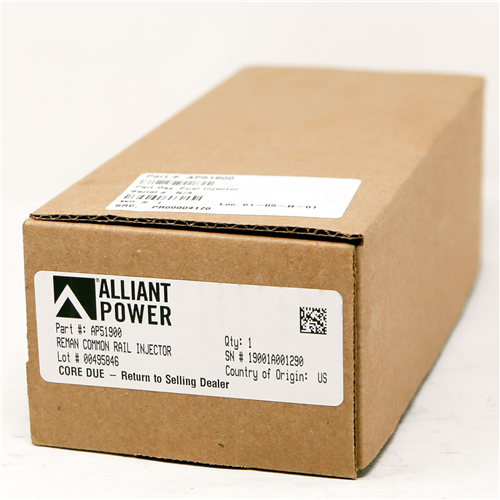 AP51900_Alliant Power Remanufactured Common Rail Injector