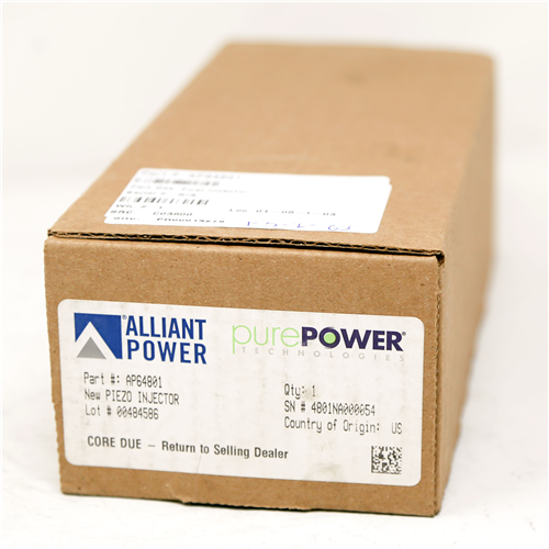AP64801_Alliant Power PPT New Piezo Injector