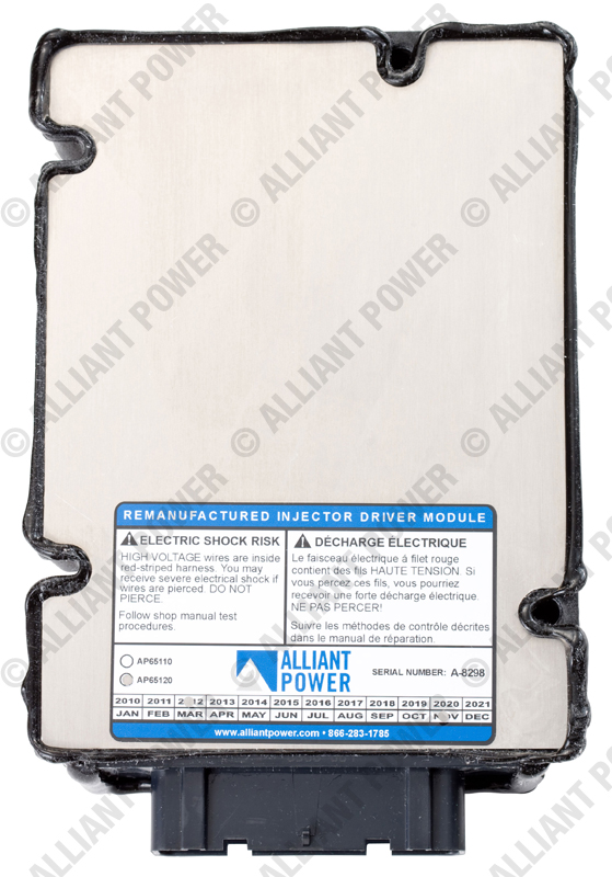AP65120_Alliant Power Remanufactured Injector Drive Module (IDM)