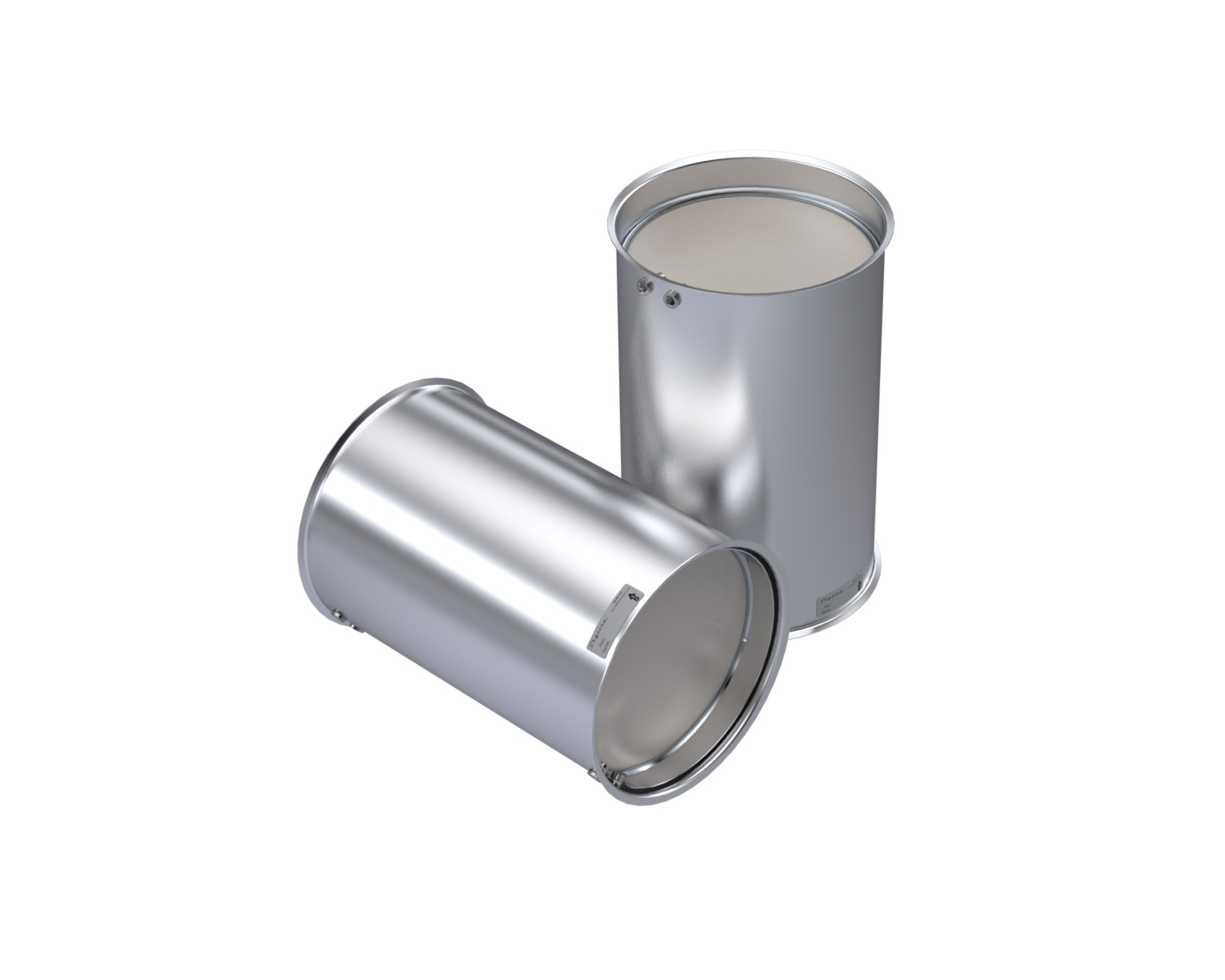 CQ1704-C_Skyline Diesel Particulate Filter (DPF). Includes Gasket and Clamp