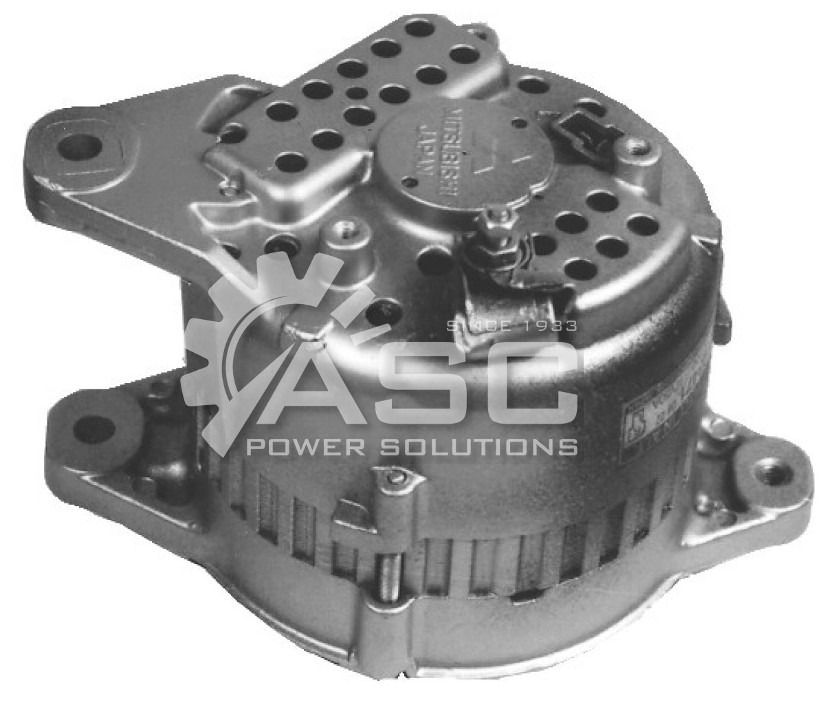 A481025_ASC, Alternator, 12V, 50 Amp, IR, EF, CW, V1, 62MM, Mitsubishi, Reman