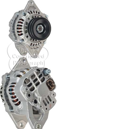 A481507N_ASC, Alternator, 12V, 80 Amp, IR, Mitsubishi, New