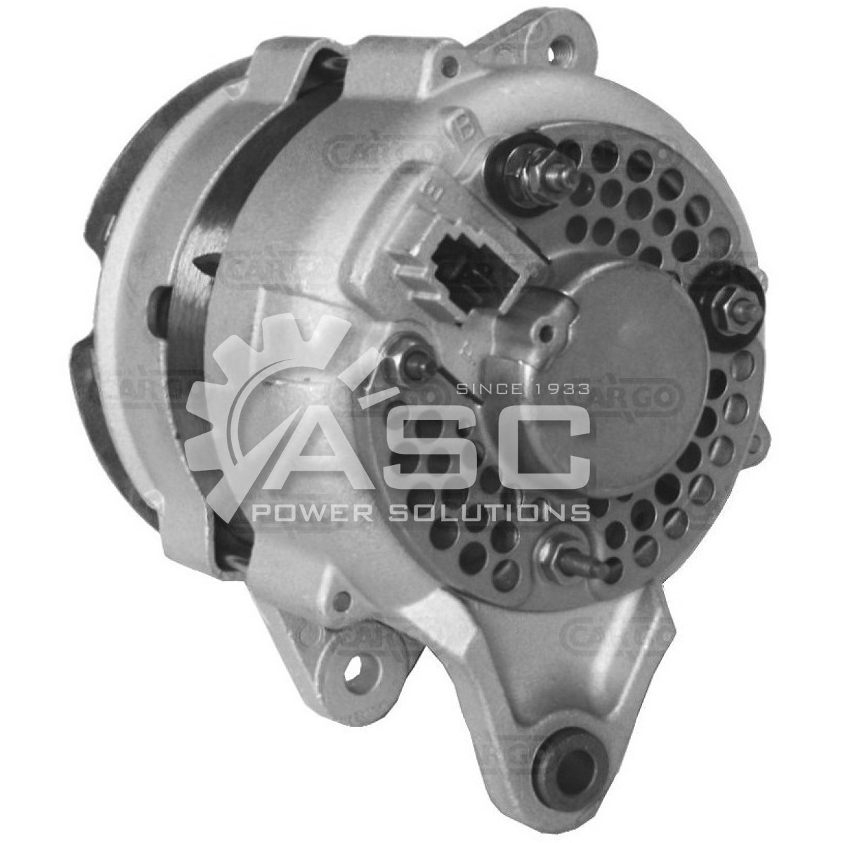 A521040_ASC, Alternator, 12V, 40 Amp, ER, EF, CW, DENSO, Reman