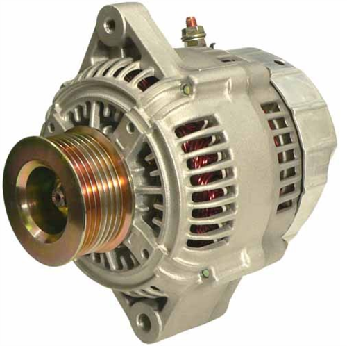 A521136_ASC, Alternator, 12V, 140 Amp, IR, IF, CW, S8, 62MM, DENSO, Reman