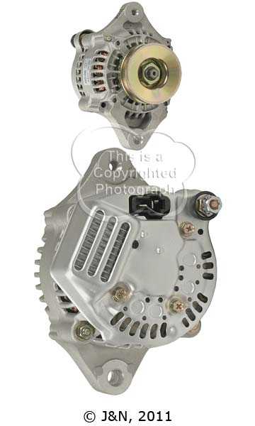 A521141N_ASC, Alternator, 12V, 40 Amp, IR, IF, CW, DENSO, New