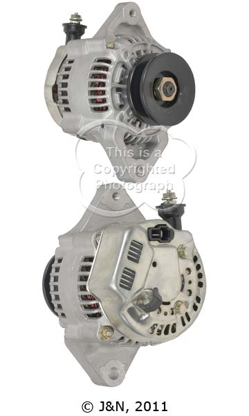 A521143N_ASC, Alternator, 12V, 45 Amp, IR, IF, CW, 69MM, DENSO, New
