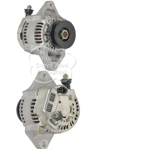 A521143_ASC, Alternator, 12V, 45 Amp, IR, IF, CW, 69MM, DENSO, Reman