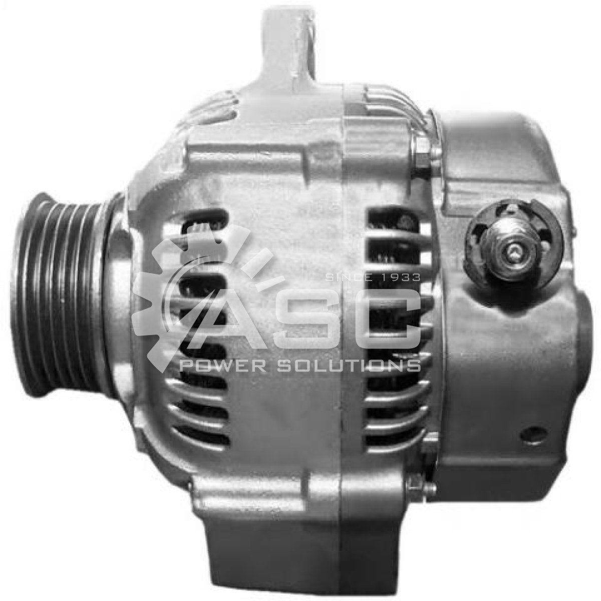 A521210_ASC, Alternator, 12V, 70 Amp, IR, IF, CW, S5, 55MM, DENSO, Reman