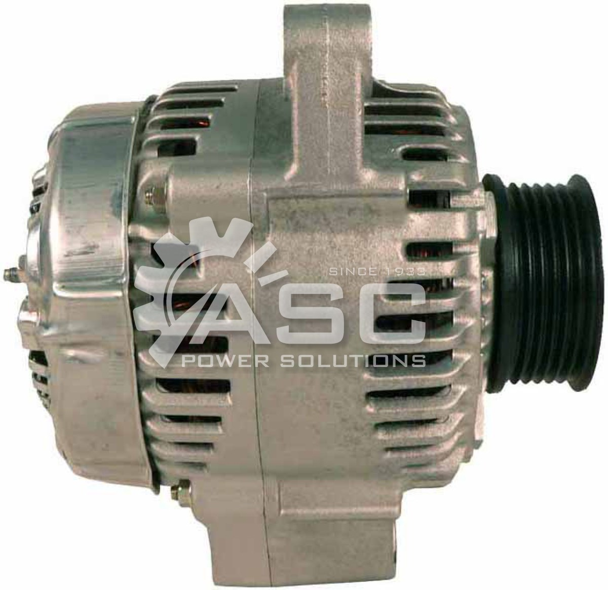 A521504_ASC, Alternator, 12V, 90 Amp, IR, IF, CCW, S6, 62MM, DENSO, Reman