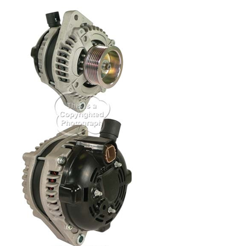 A521671N_ASC, Alternator, 12V, 125 Amp, IR, IF, CW, S6, 65MM, DENSO, HAIRPIN, New