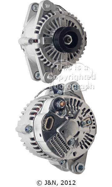 A521757N_ASC, Alternator, 12V, 130 Amp, IR, IF, CW, 52MM, Poongsung, New