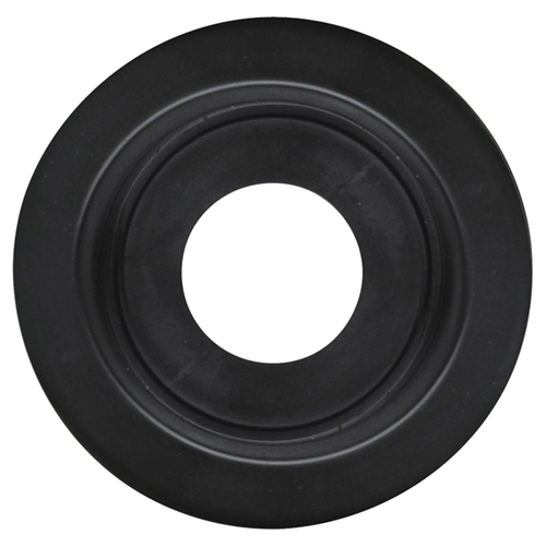 A55GB_OPTRONICS A55GB Open Back Flush Mount Grommet for 2.5 in. Lights Black
