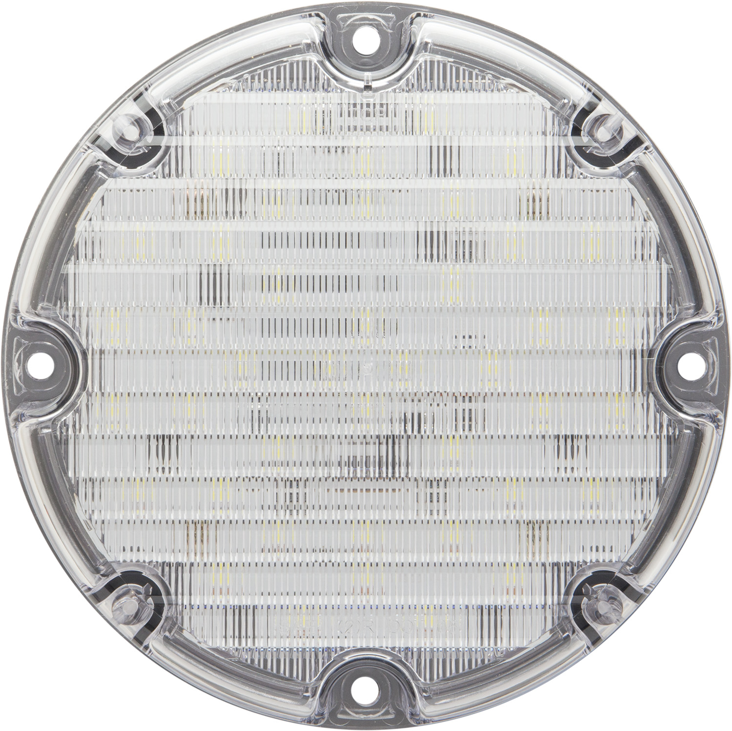 BUL90CB_OPTRONICS Clear 7 in. Back-Up Light Surface Mount Hard Wired 12v