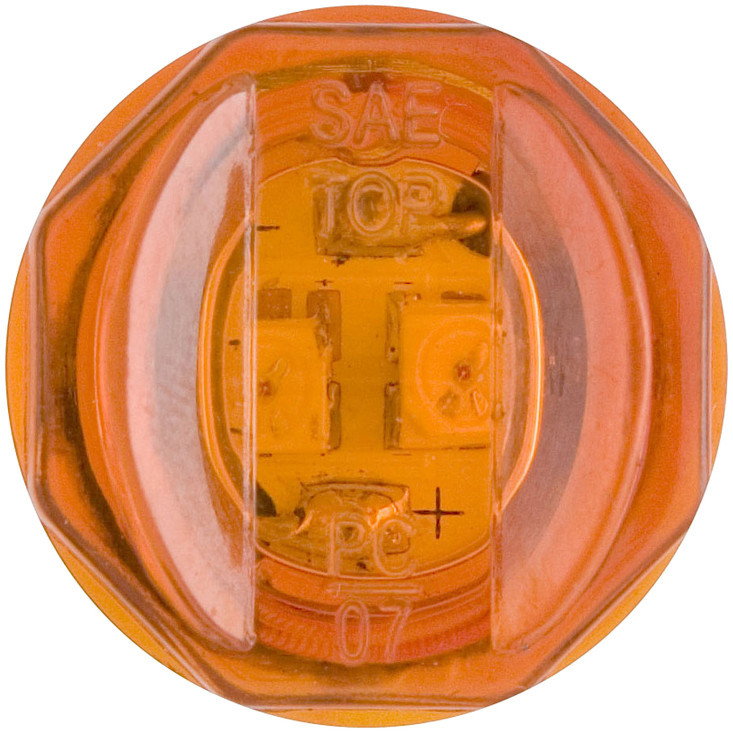 MCL11AB_Optronics MCL11AB Amber LED 0.75 in Sealed Clearance Light