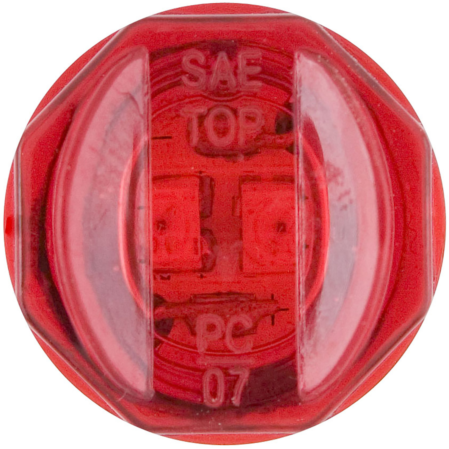 MCL11RB_OPTRONICS MCL11RB Red 0.75 in. PC Rated Marker Clearance Light