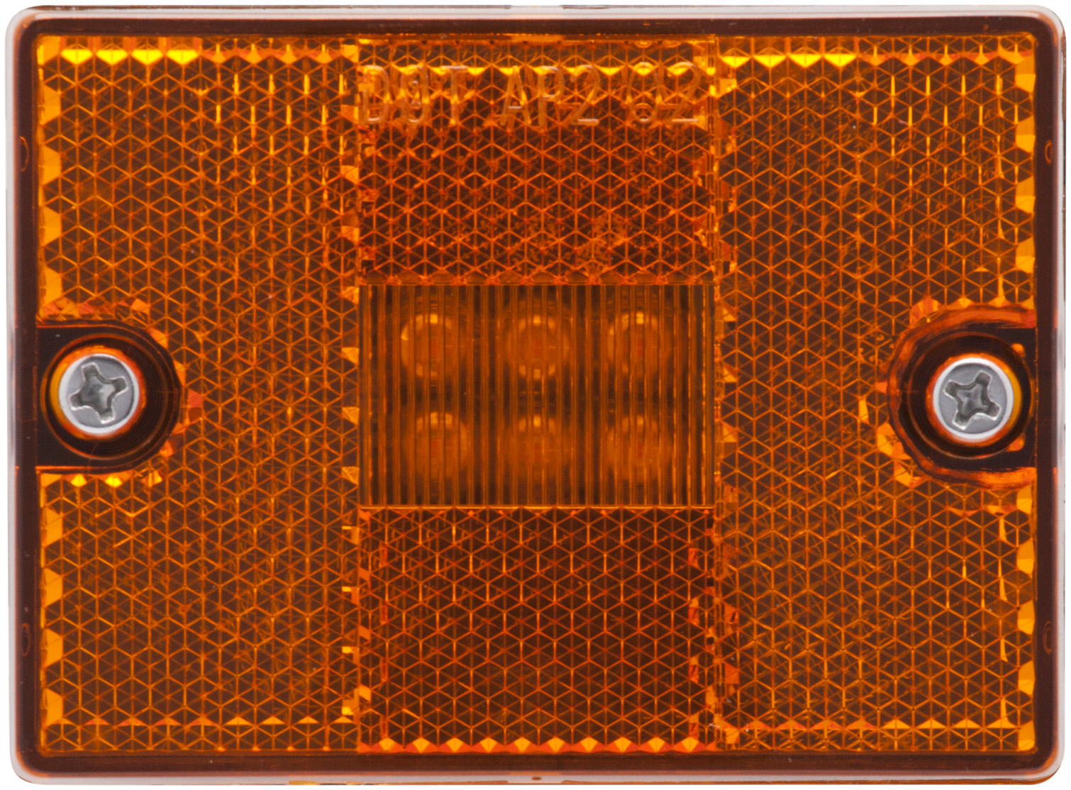 MCL36AB_OPTRONICS Yellow Marker Clearance Light with Reflex