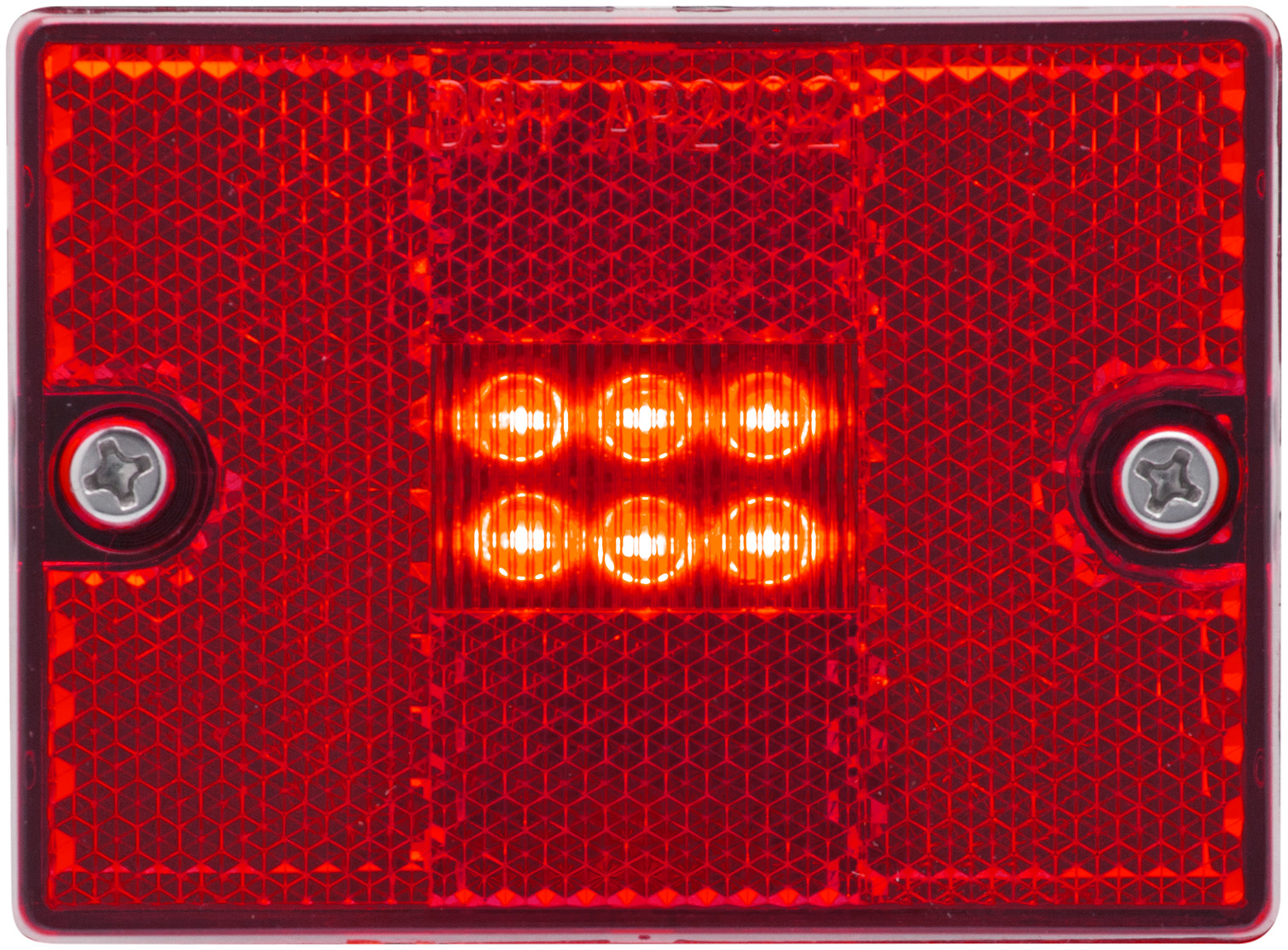 MCL36RB_OPTRONICS MCL111AB Yellow 0.75 in. PC Rated Marker Clearance Light