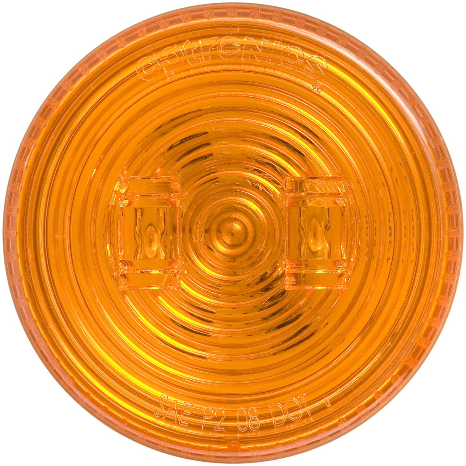 MCL527AB_OPTRONICS MCL527AB Yellow 2.5 in. Marker Clearance Light for Grommet Mount