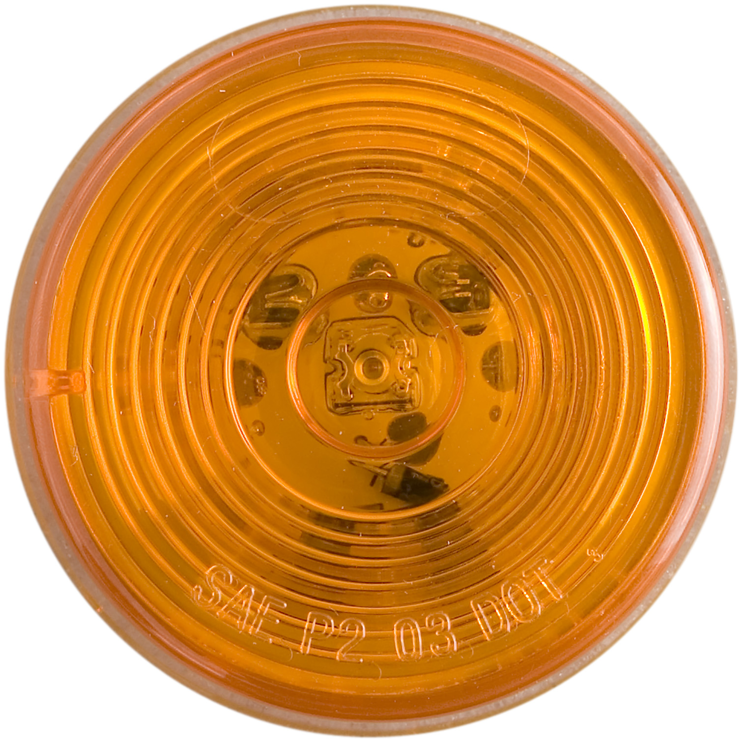 MCL56AB_OPTRONICS MCL56AB Yellow Marker Clearance Light for Grommet Mount