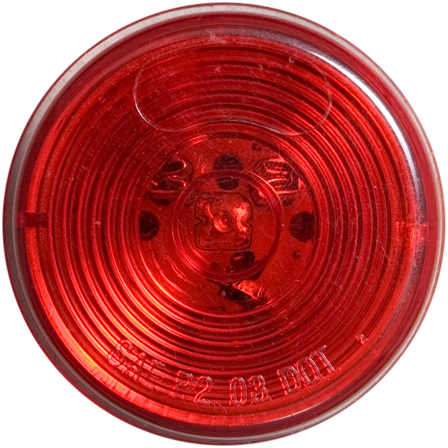 MCL56RB_OPTRONICS MCL56RB Red Marker Clearance Light for Grommet Mount