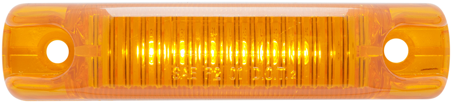 MCL66AB_OPTRONICS MCL66AB Yellow Surface Mount Marker Clearance Light 12v