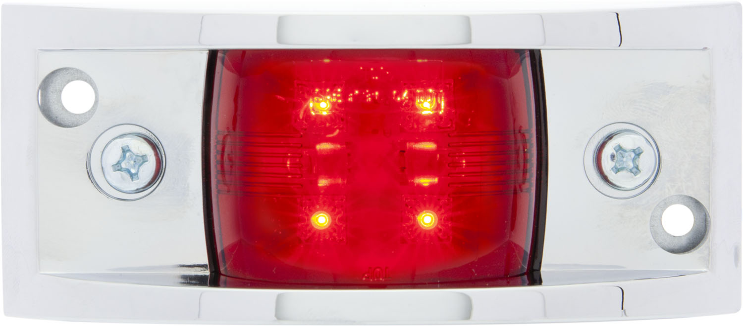 MCL81RB_OPTRONICS MCL81RB Red Marker Clearance Light