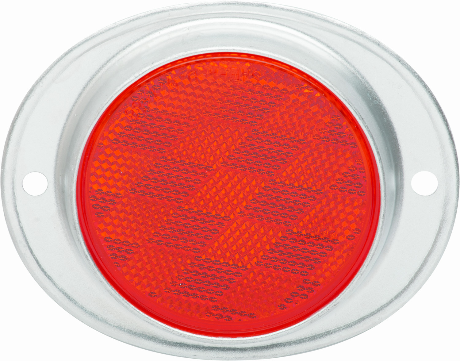 RE31RS_OPTRONICS RE31RS Retail Pack: Armored Aluminium Red Screw Mount Reflector Clam