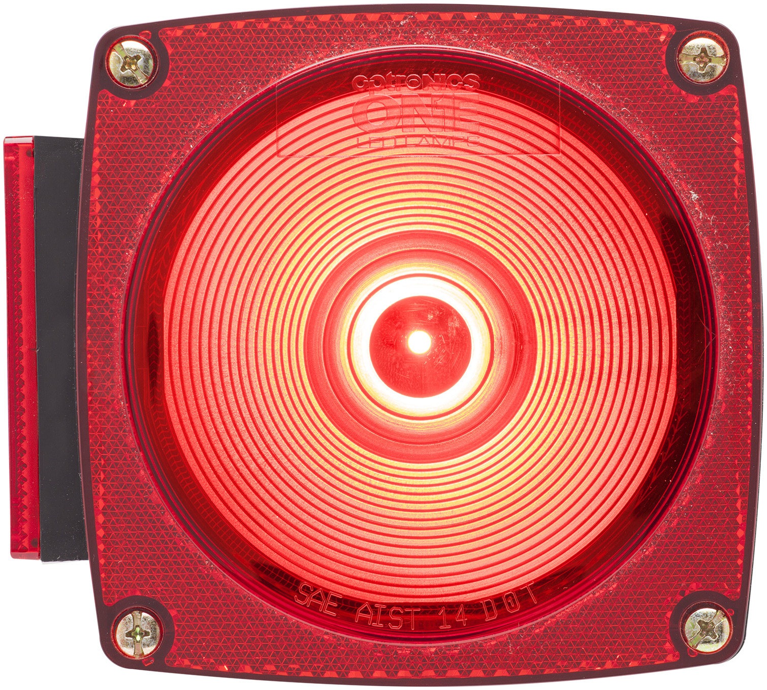 STL009RB_OPTRONICS STL009RB LED Combination Light with LIcense Light Driver Side