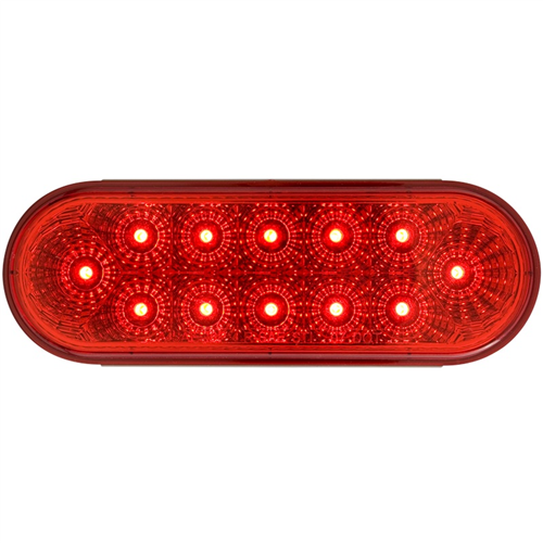 STL22RBH_OPTRONICS STL22RBH Red Stop Turn Tail Light Hard Wired