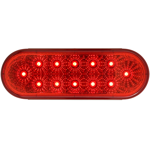 STL22RB_OPTRONICS STL22RB Red Stop Turn Tail Light PL-3 Connection