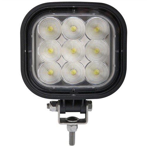 TLL46CFB_OPTRONICS TLL46CFB Square LED Work Light Flood Beam 12-24v