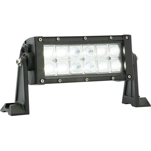UCL23CB_OPTRONICS UCL23CB LED 9 in. Spot and Flood Light Bar 12-24v Color Window Box