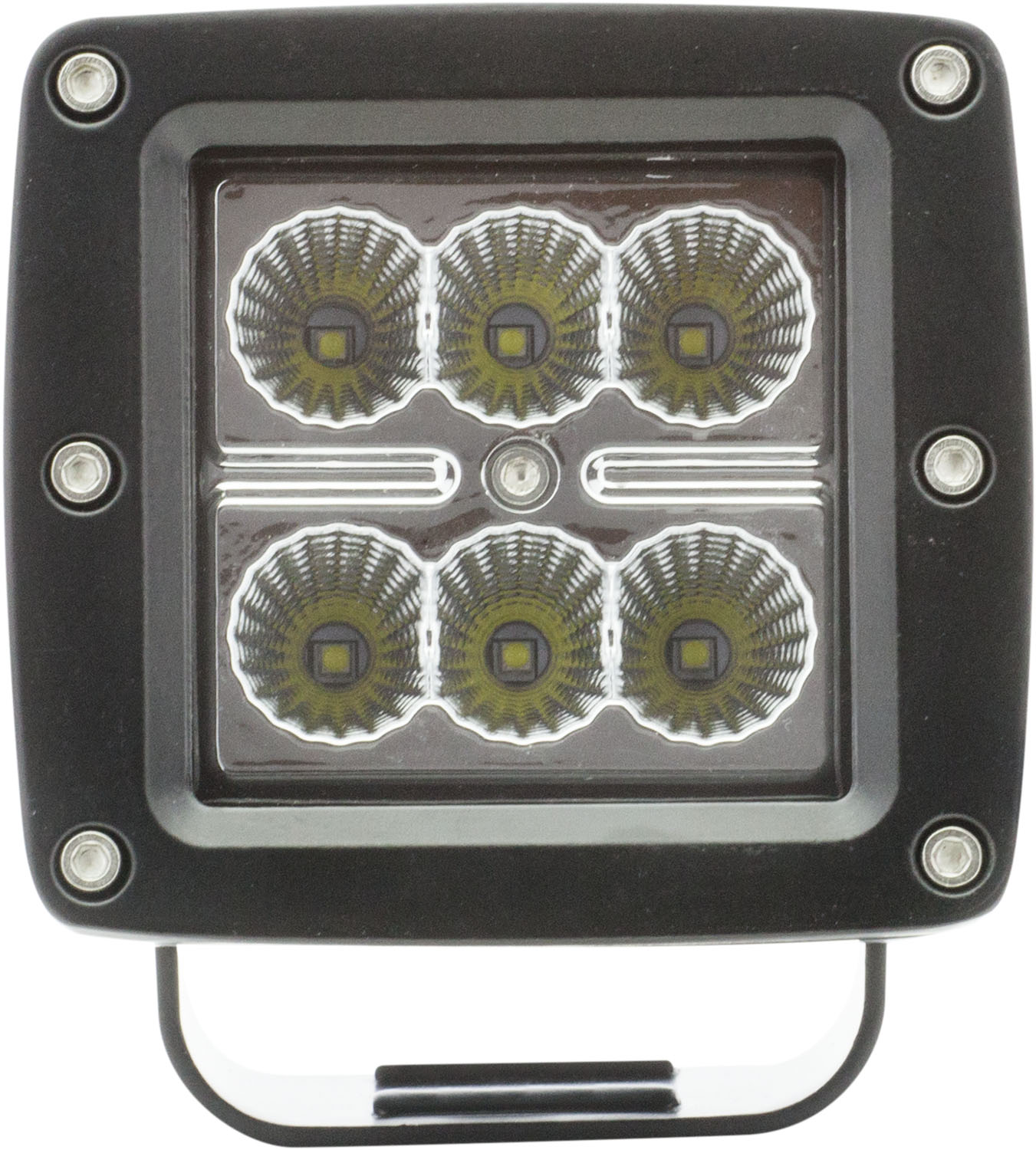 UCL24CB_OPTRONICS UCL24CB LED 3 in. Cube Flood Light Post Mount 12v Color Box