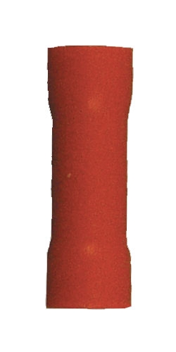 160580-100_Quick Cable 160580-100 8 Gauge PVC Solderless Butt Connector Red Package of 100