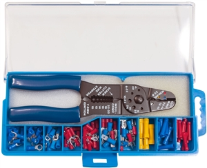 160903-001_Quick Cable 160903-001 PVC Solderless Terminal Kit with Tool Package of 1