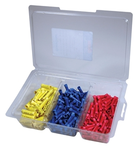 160905-001_Quick Cable 160905-001 PVC Solderless Butt Connector Assortment Package of 1