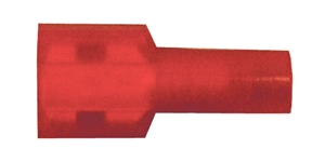 162158-2007_Quick Cable 162158-2007 22-18 Gauge Nylon Solderless Insulated Female Disconnect Red .250 Package of 7