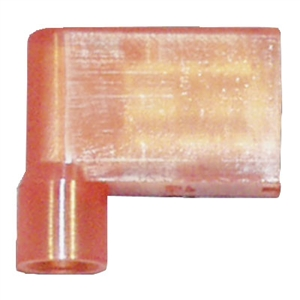 162165-1000_Quick Cable 162165-1000 22-18 Gauge Nylon Solderless Insulated Flag Terminal Red .250 Package of 1000
