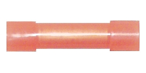 162180-050_Quick Cable 162180-050 22-18 Gauge Nylon Solderless Butt Connector Flared Ends Red Package of 50