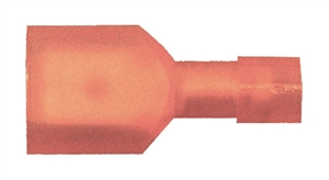 163157-025_Quick Cable 163157-025 22-18 Gauge Premium Nylon Insulated Female Disconnect Red .187 Package of 25