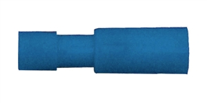 163266-025_Quick Cable 163266-025 16-14 Gauge Premium Nylon Insulated Female Bullet Blue .157 Package of 25