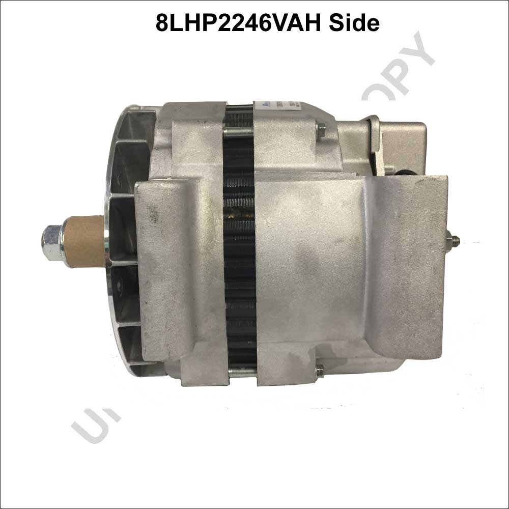 8LHP2246VAH_Prestolite Leece Neville New Alternator 8LHP Series Pad Mount type 12V 160A