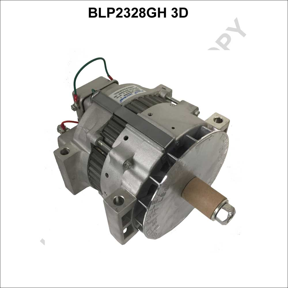 BLP2328GH-ISO_Prestolite Leece Neville New Alternator BLP Series Pad Mount type 12V 160A