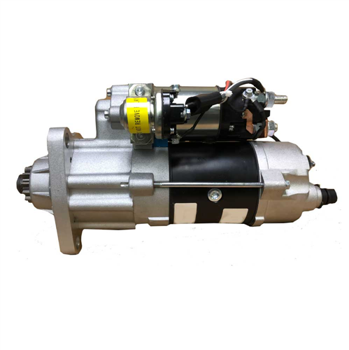 M105723_New Starter Motor M105 24V 8-10 Pinion Pitch Cw Rotation 7.5KW with OCP and Wet Clutch