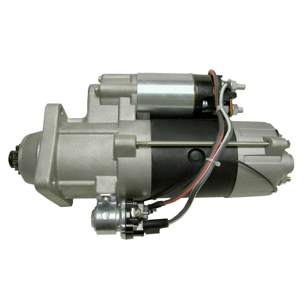 M105R2052SE_New Starter Motor Prestolite Leece Neville Electric M105 12V 11T 8/10 DP Pinion Pitch CW Rotation 5KW with Wet Clutch